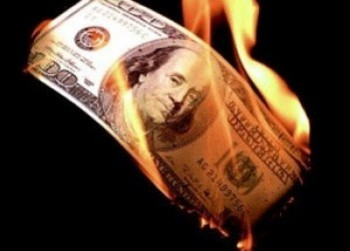 are you just burning money?